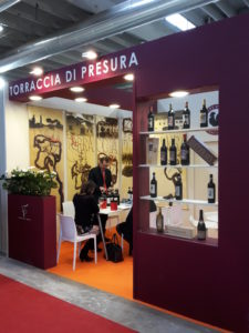 booth 225x300 Torraccia di Presura at Vinitaly 2019