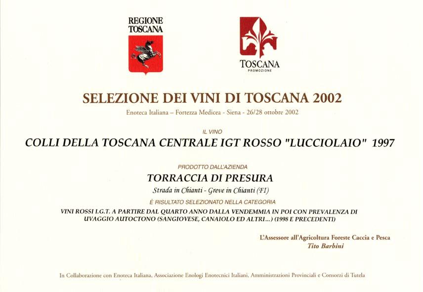 04 LUC 1997 Selez vini 2002 2002