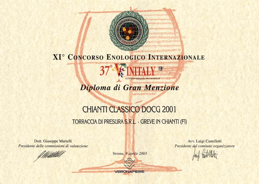 14 TDP 2001 Vinitaly37 2003 2003