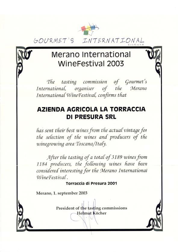 15 TDP 2001 Merano 2003