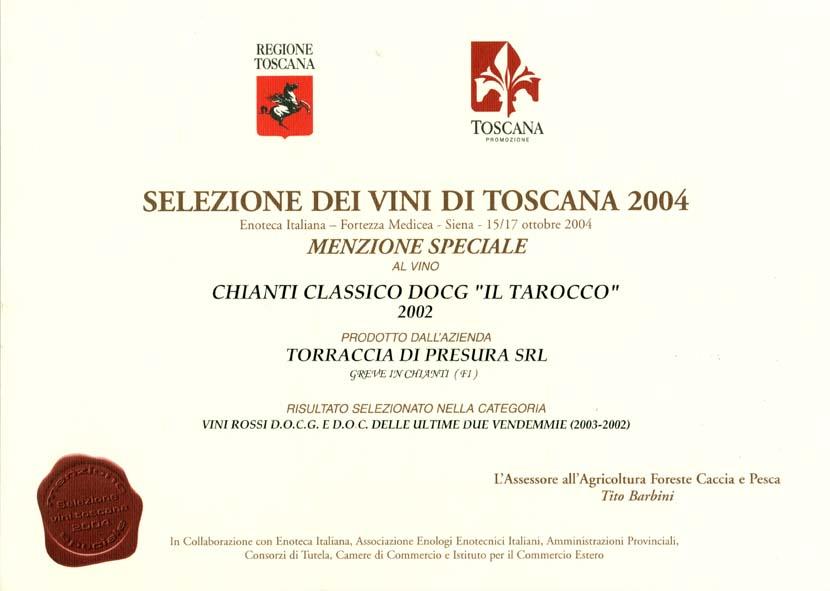 19 TAR 2002 Selez vini 2004 2004