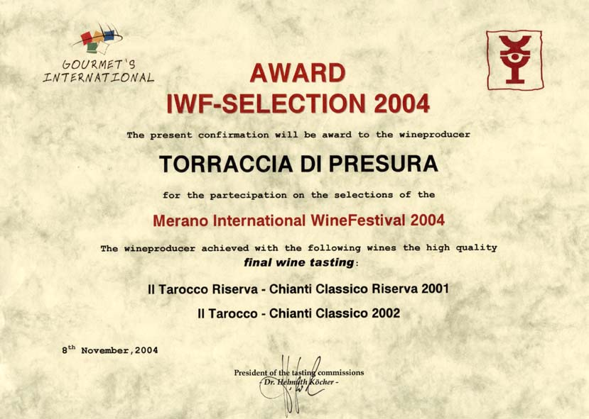 20 TAR 2002  TARRIS 2001 Merano 2004 2004