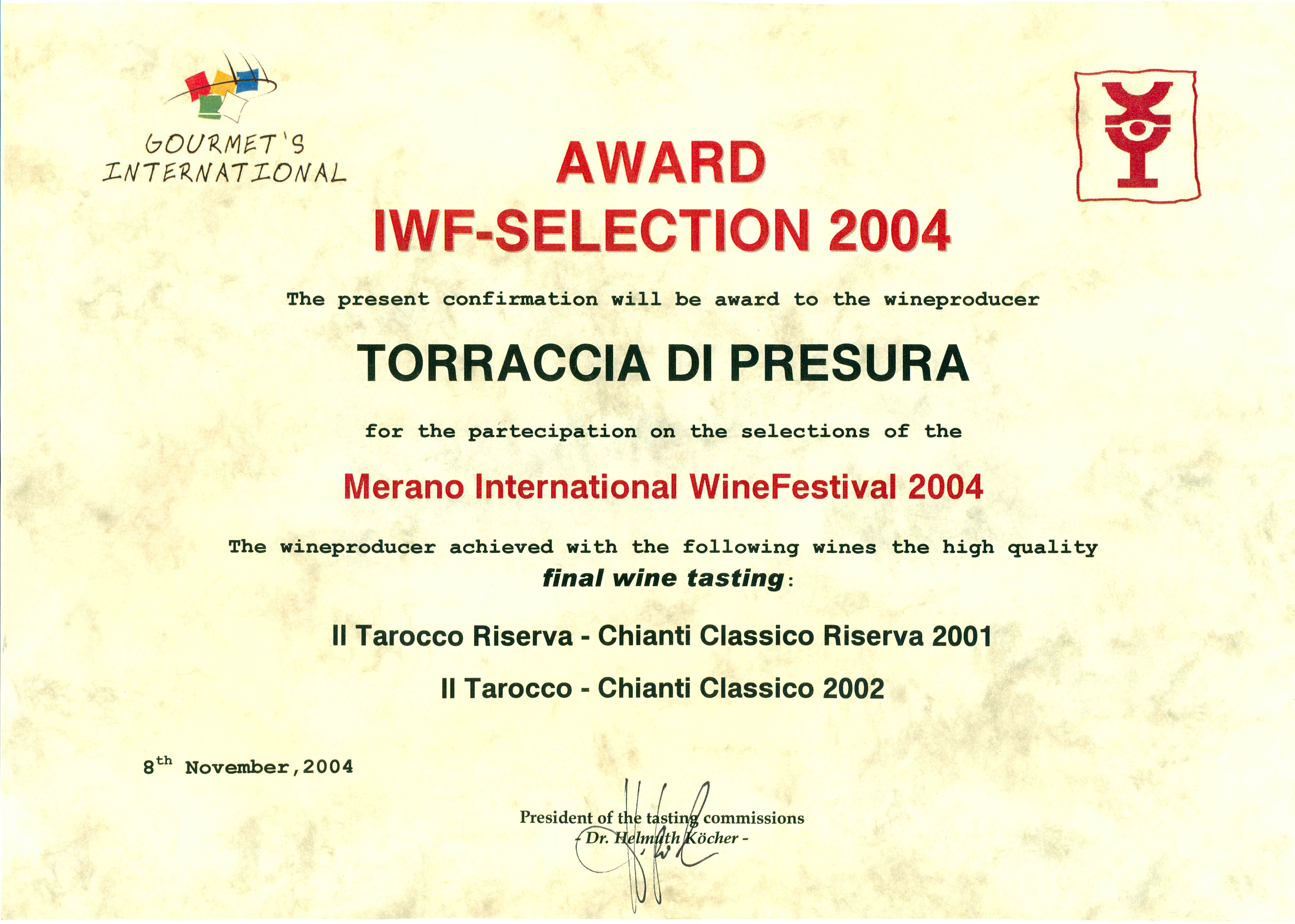 31 TARRIS 2001 Merano 2004 2004