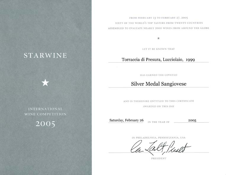 11 LUC 1999 Starwine 2005 2005