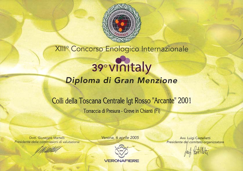 38 ARC 2001 Vinitaly39 2005 2005