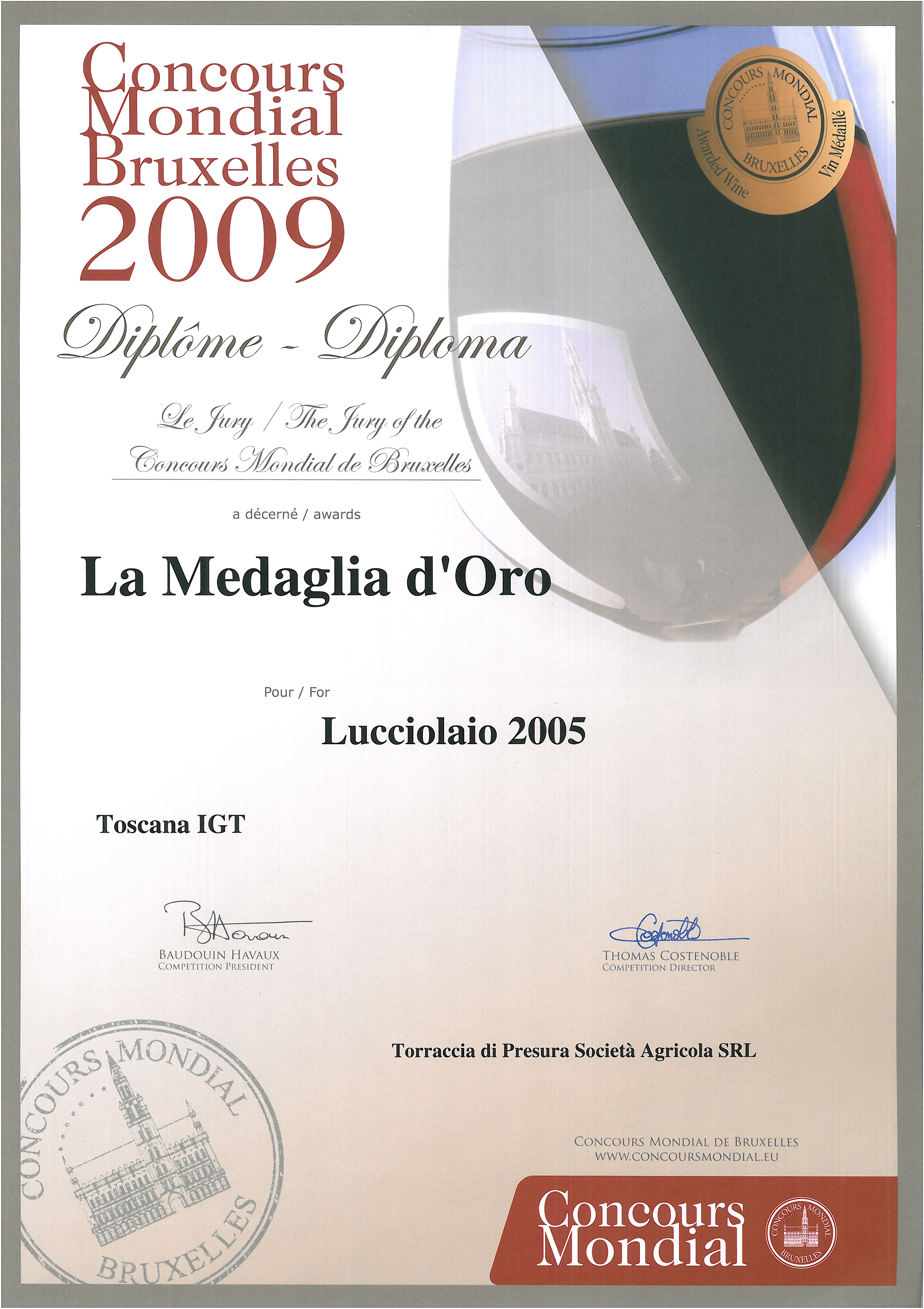 65 LUC 2005 Bruxelles 2009 2009