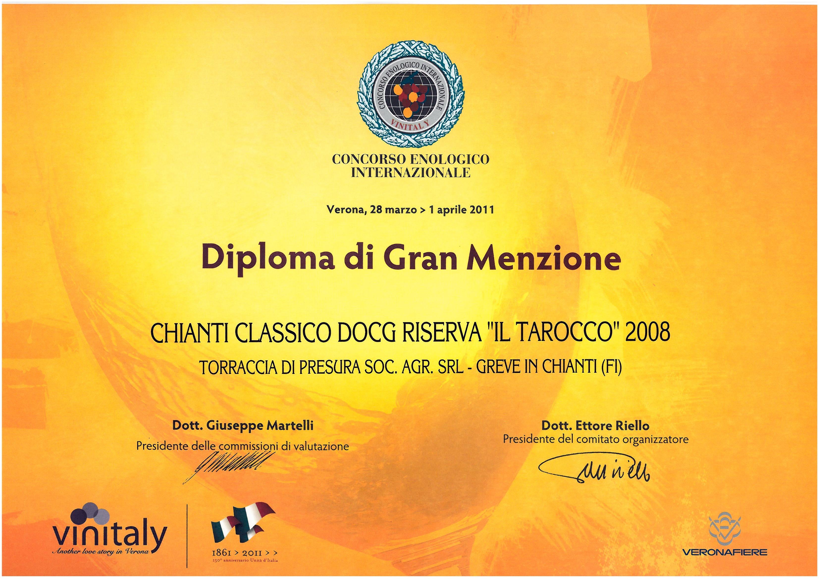 81 TARRIS 2008 Vinitaly45 2011 2011