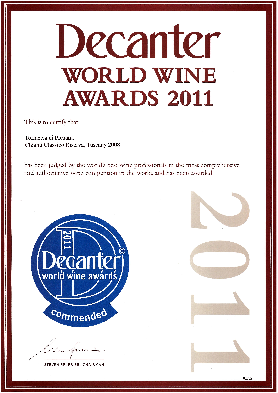 83 TARRIS 2008 Decanter 2011 2011
