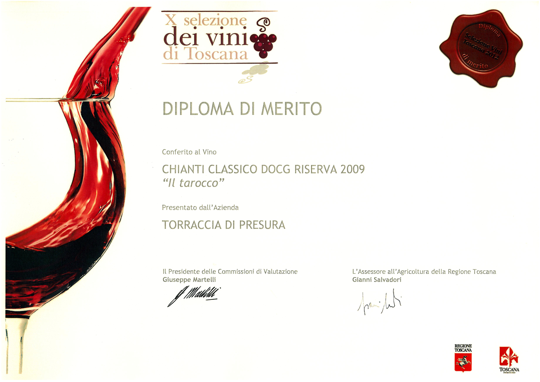 108 TARRIS 2009 Selez Vini 2012 2012